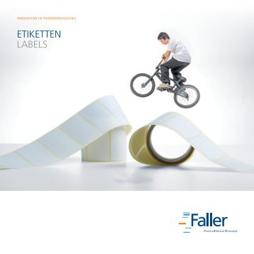 etiketten LabeLs - August Faller KG
