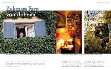 PDF Artikel - Hotel Englischer Garten