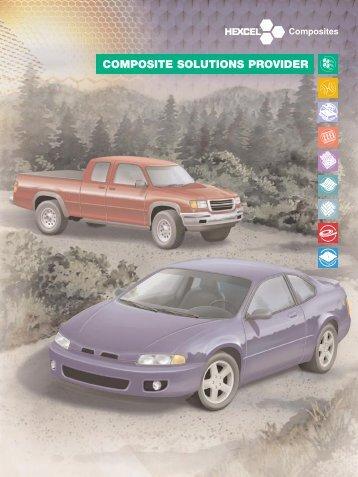 COMPOSITE SOLUTIONS PROVIDER - Hexcel.com