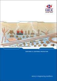 Earthing & Lightning Protection - Brass Copper & Alloys
