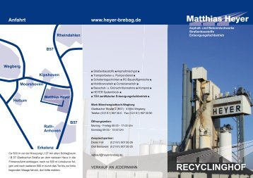 Matthias Heyer / Recyclinghof