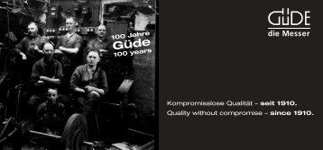 Güde Image-Broschüre - Welt-der-Messer.ch