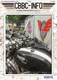 Info 5-13 - Classic British Bike Club