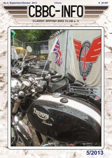 Info 5-13 - Classic British Bike Club