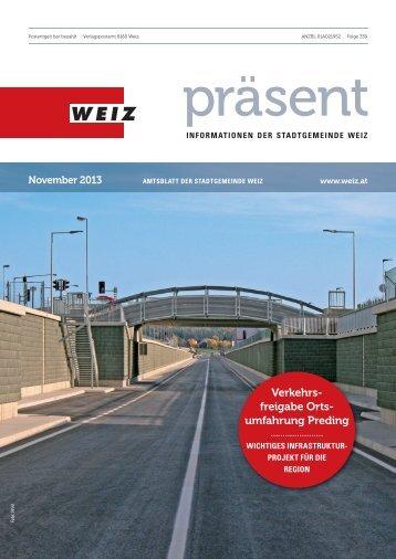 November 2013 - Weiz