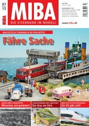 Blick in diese Ausgabe - Verlagsgruppe Bahn