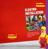 Elektroinstallationen (PDF; 4,1 MB) - bauMax