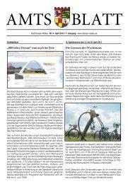 Amtsblatt für die Stadt Dessau-Roßlau