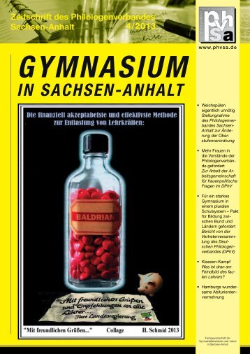 Aktuelle Ausgabe - Phvsa.de