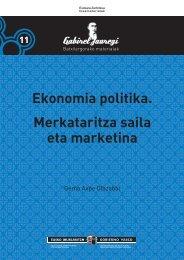 11 Ekonomia politika. Merkataritza saila eta marketina - Hezkuntza ...