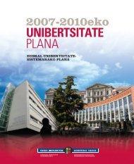 Untitled - Hezkuntza, Unibertsitate eta Ikerketa Saila - Euskadi.net
