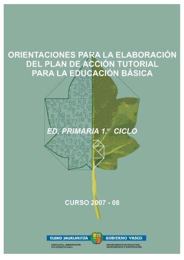 Orientaciones para - Euskadi.net
