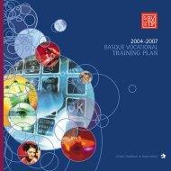 complete text of the plan - Hezkuntza, Unibertsitate eta Ikerketa ...