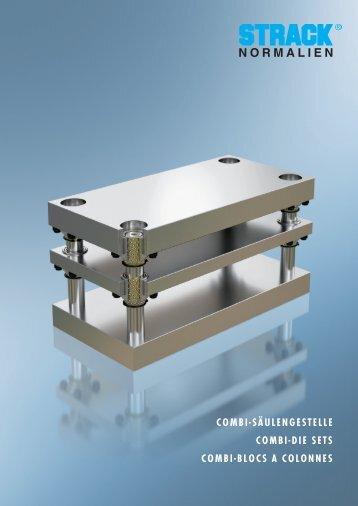 combi-säulengestelle combi-die sets combi-blocs a colonnes - Strack