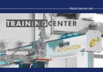 2013-08-12 TrainingCenter.pdf - HAHN Automation