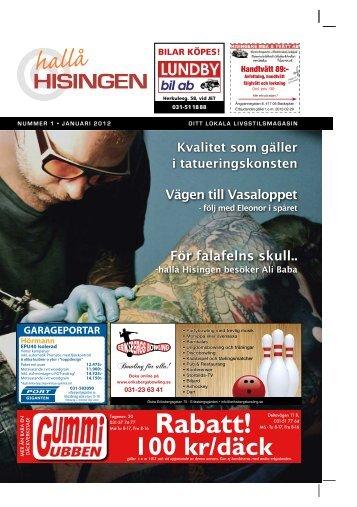HALLÅ HISINGEN - Välkommen
