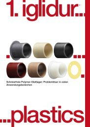 Schmierfreie Polymer-Gleitlager: Problemlöser in vielen ... - Igus