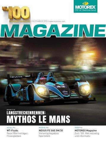 MYTHOS LE MANS - Motorex