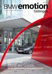 BMW emotion 3/2013 Ausgabe hier als PDF herunterladen.
