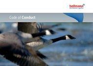 Code of Conduct - Hellmann Worldwide Logistics