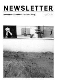 Blick aus Raum 113 auf Teil der Arbeit von Katrin Sahner, Karl H ...
