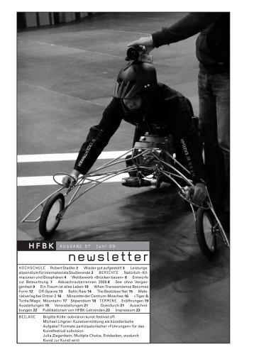 newsletter - Von Schloss zu Schloss