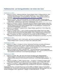 Publikationen (PDF, 62KB) - HfH
