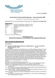 Sommersemester 2006 - Hochschule für Jüdische Studien Heidelberg
