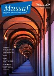 Mussaf_130910_final_Layout 1 - Hochschule für Jüdische Studien ...