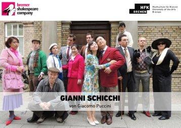 Programmheft Gianni Schicchi.pdf - Hochschule für Künste Bremen