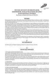 Richtlinie zum Schutz voR Benachteiligung, DiSkRiminieRung ...