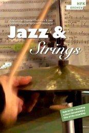 Booklet_Jazzandstrings - Hochschule für Künste Bremen