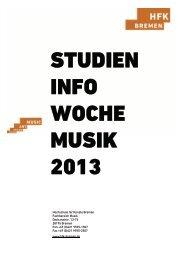 (0)421 9595-1507 Fax +49 (0)421 9595 - Hochschule für Künste ...