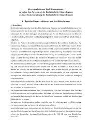 DV Konfliktmanagement - Hochschule für Künste Bremen