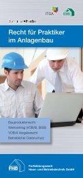 Recht für Praktiker im Anlagenbau - Industrieverband Technische ...