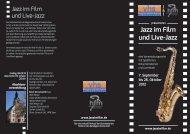 Folder JazzimFilm.indd - Hochschule für Musik Saar