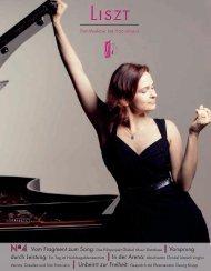 LISZT-Magazin - Hochschule für Musik Franz Liszt