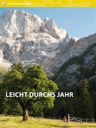 LEICHT DURCHS JAHR