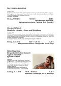 VHS Literarisch – Herbst/Winter 2010/2011 - Page 3