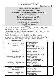 """Peter Iljitsch Tschaikowsky Suite """"Dornröschen"""" op. 66a Variationen ..."""