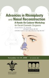 Advances in Rhinoplasty - Practical Anatomy & Surgical Education ...