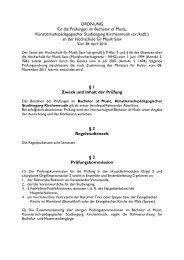 Studienordnung BOM Kirchenmusik-ev-kath - Hochschule für Musik ...