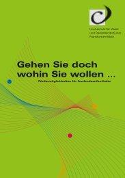 Broschüre - HfMDK Frankfurt