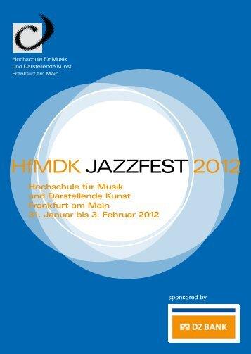 HfMDK JazzFest 2012 - HfMDK Frankfurt