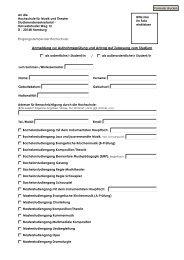 Aufnahmeantrag HfMT Stand 2008.pdf - Hochschule für Musik und ...