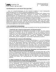 Merkblatt zur Eignungsprüfung Lehramt - Hochschule für Musik und ...