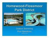 Outdoor Swimming Pool PowerPoint - Homewood Flossmoor Park ...
