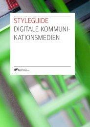 styleguide digitale kommuni- kationsmedien - Hochschule für Musik ...