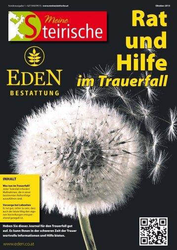 PDF hier erhalten - Bestattung Eden :: Würdevoll Abschied nehmen