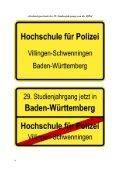 Fakultät I / Einsatz- und Führungswissenschaften - Hochschule für ... - Page 6